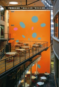 5. Installatie Hope for Happiness, Haagse Hoge School, 1994